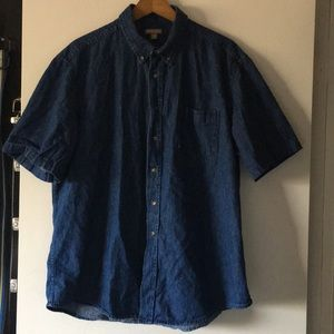 George Denim Button Down Shirt